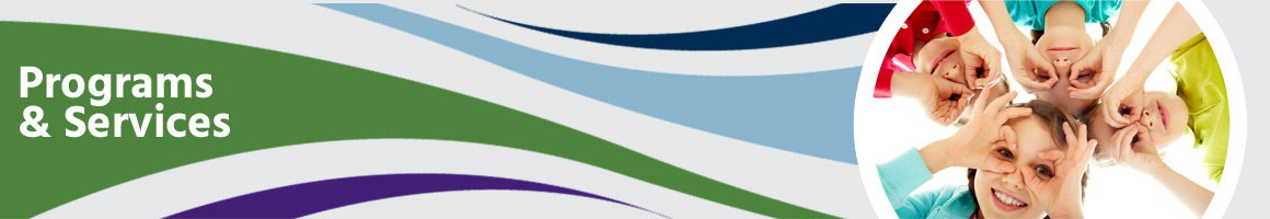 Programs & Services Section Banner