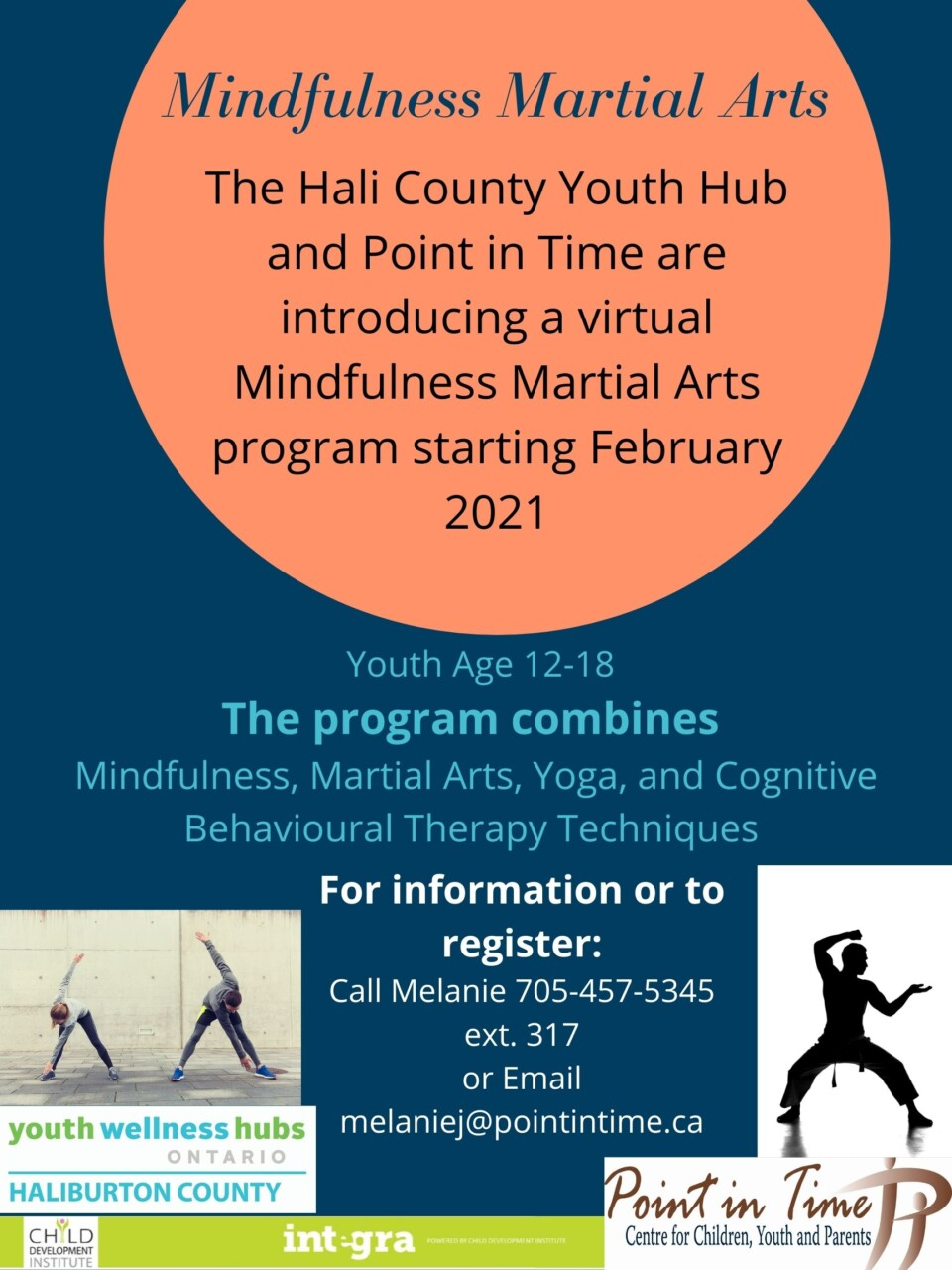 Mindfulness Martial Arts Program - Youth Age 12-18